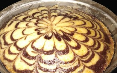 How to Make Eggless Marble Cake