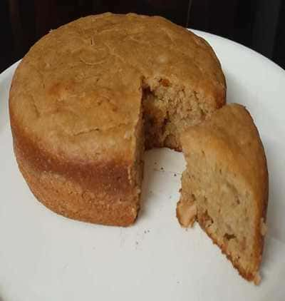 How to Make Eggless Banana Cake
